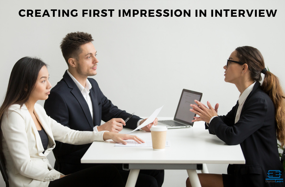 Creating first impression in Interview