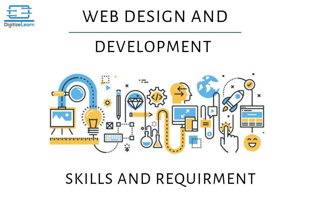 web design & development - skills and requirment